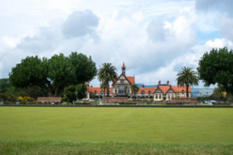 Le musée de Rotorua.
