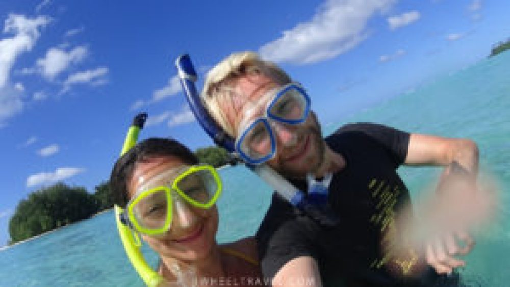 Snorkelling with style!