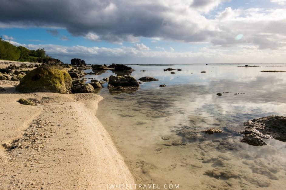 Black Rock et ses eaux transparentes.