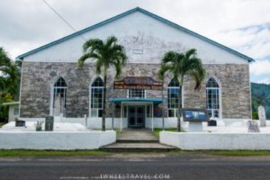 Une des nombreuses églises de l'ile.