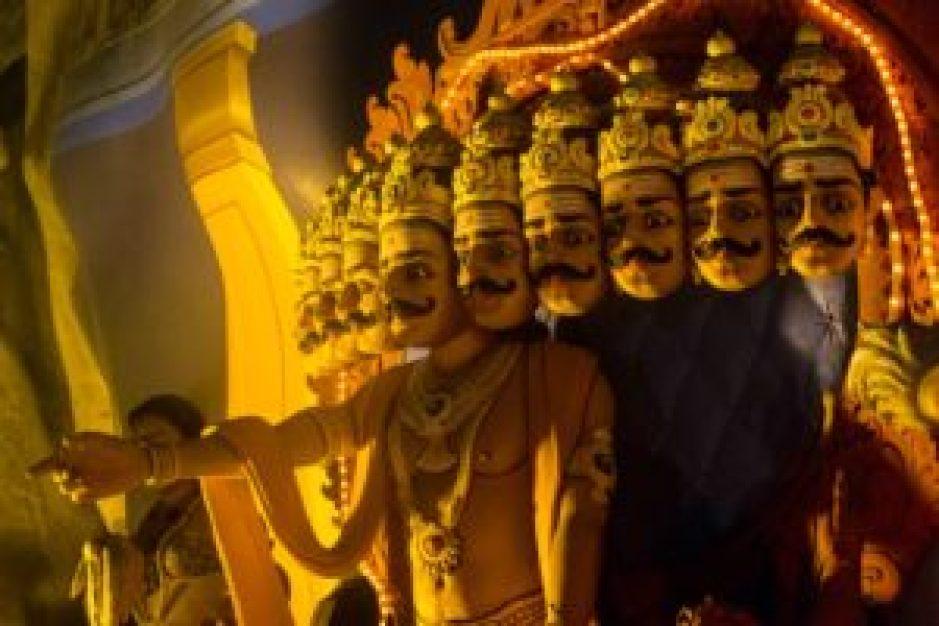 Le démon Ravana.