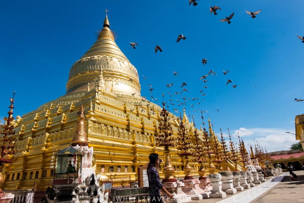 Grâce aux donations la pagode est redorée tous les 4 à 5 ans.
