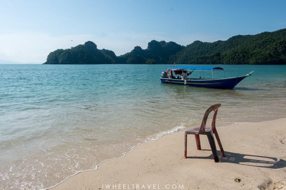 Tanjung Rhu beach.