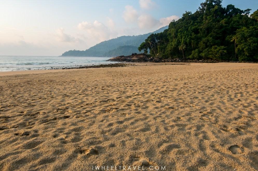 Une plage pour nous tous seuls !
