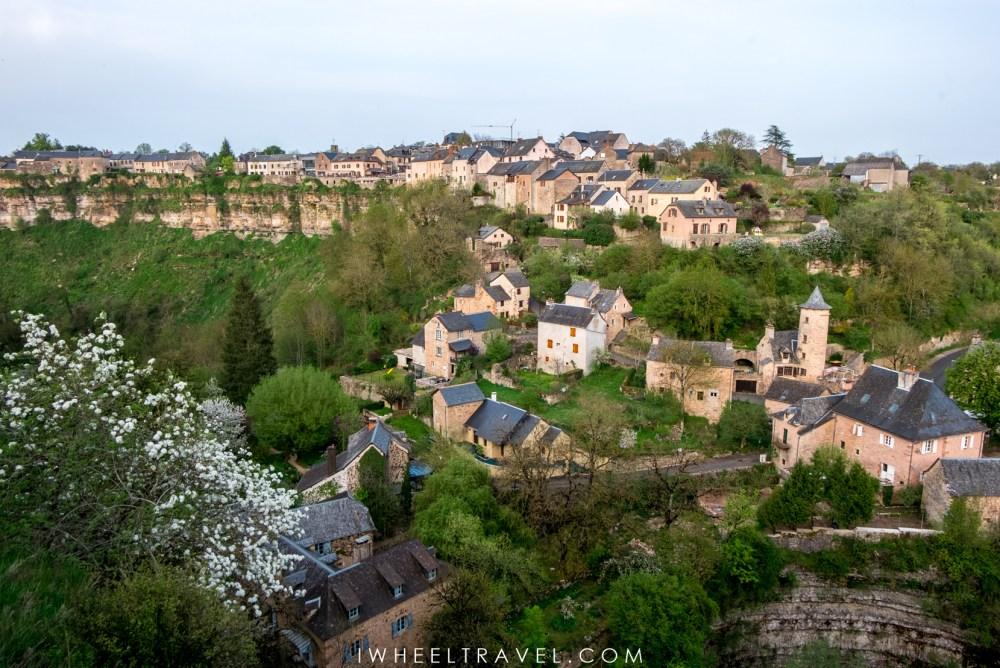 Bozouls, une petite ville pleine de charme.