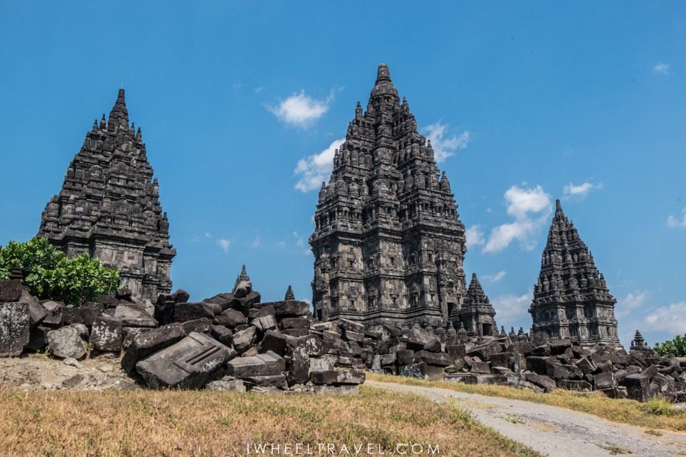 Temples Prambanan.