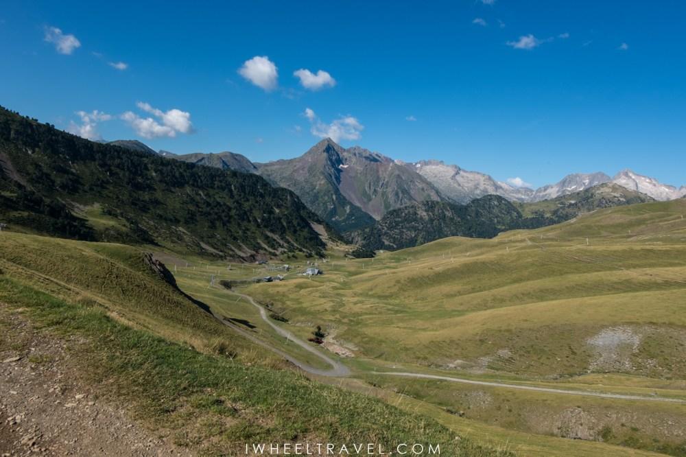Col du Portet GR10 Pyrénées Joëlette randonnée handicap