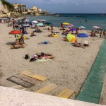 Otrante plage fauteuil roulant handicap