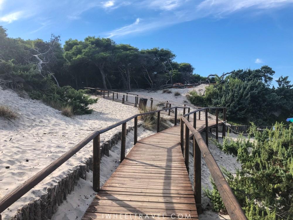 Torre Del'Orso plage accessible fauteuil roulant pouilles