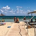 Torre Guaceto plage fauteuil roulant