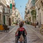 Polignano a Mare handicap fauteuil roulant