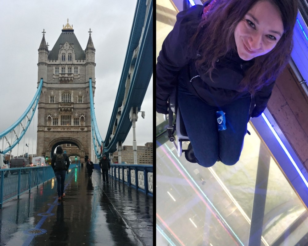 London tower Bridge wheelchair