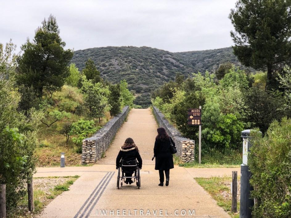 Pont du diable aniane handicap