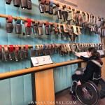 musée de la cloche et de la sonnaille fauteuil roulant