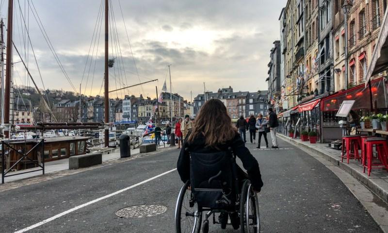 Honfleur tourisme handicap