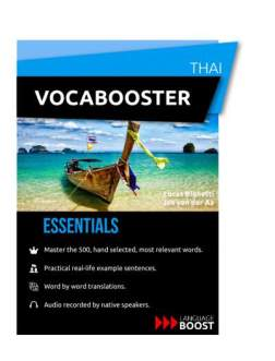vocabooster thai review