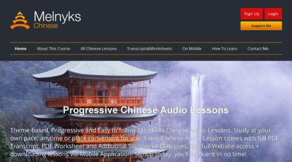 Learn chinese free online mandarin audio courses