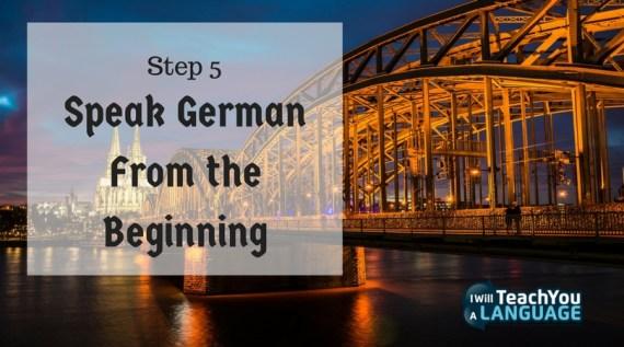 Speak German from the Beginning