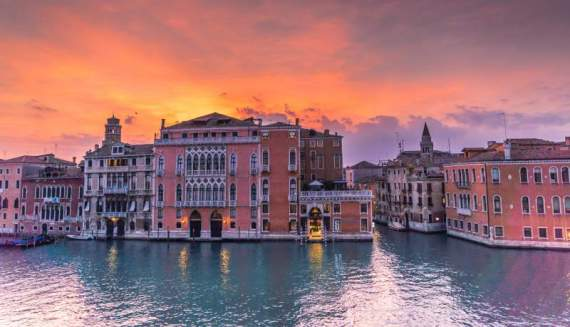 venice sunset learn italian