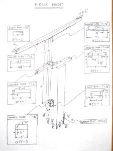 Heliostat Gimbal Mount Drawing