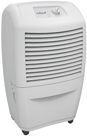 A portable dehumidifier