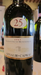 Caprai wine at IWINETC 2012