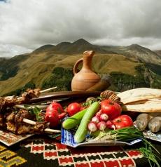 Georgian food iwinetc 2013