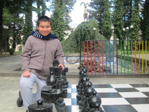 Play chess at Sarajishvili IWINETC
