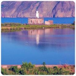 Salina. The lighthouse