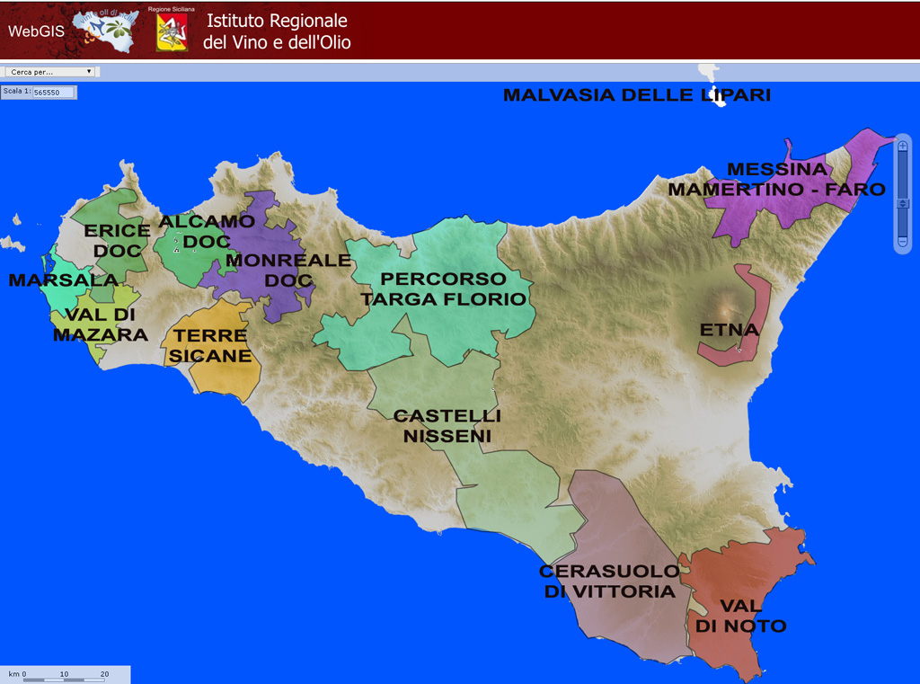 Wine regions of Sicily iwinetc