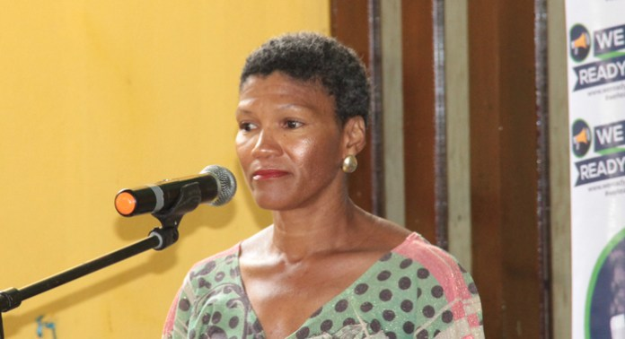Some women shared their experiences as victims of abuse. (IWN photo)