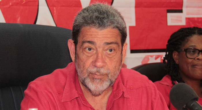 """Prime Minister Dr. Ralph Gonsalves has expressed """"revulsion"""" at the crime. (IWN file photo)"""