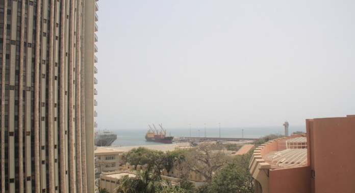 One of the views from my hotel room in Dakar. (IWN photo)