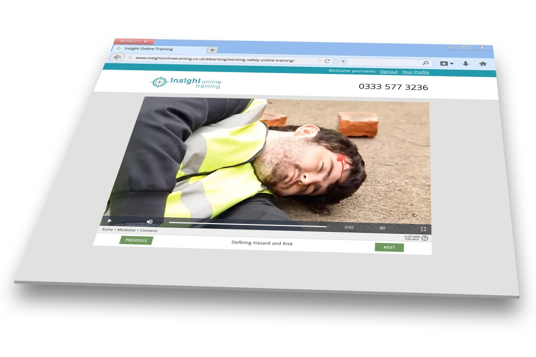Working Safely online training