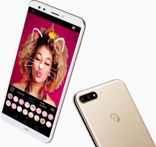 Бюджетный смартфон Huawei Y7 Prime получил сдвоенную камеру