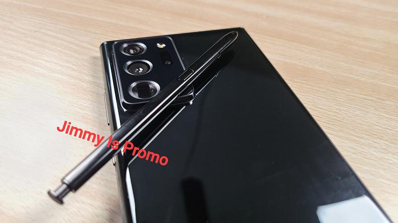 Samsung Galaxy Note 20 Ultra впервые показали на живых фото в руках пользователя
