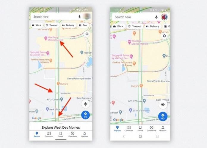 На Google Картах появляются светофоры