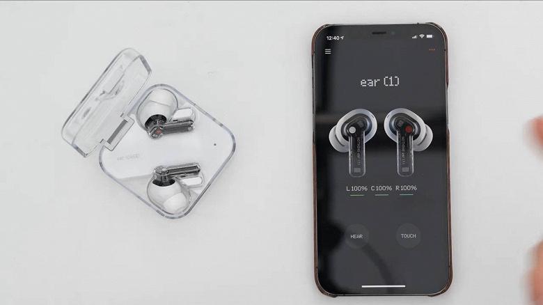 «Ничто» за 99 долларов: представлены прозрачные беспроводные наушники Nothing Ear 1 с активным шумоподавлением