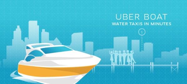 UberBOAT позволит быстро и комфортно перебраться, например, через пролив Босфор