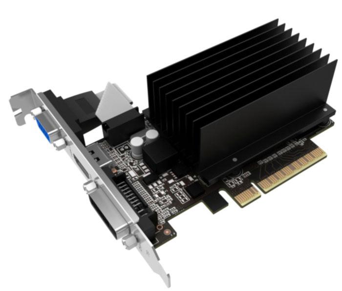 Основой 3D-карт серии Palit GeForce GT 710 служит графический процессор Nvidia GK208