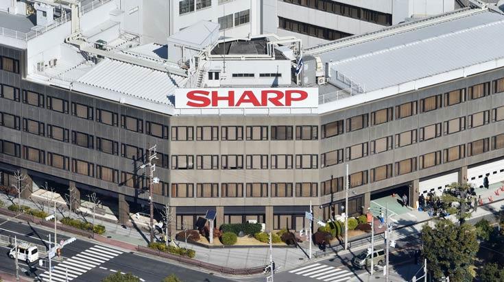 Компания Sharp опубликовала отчет за первый квартал 2016 финансового года