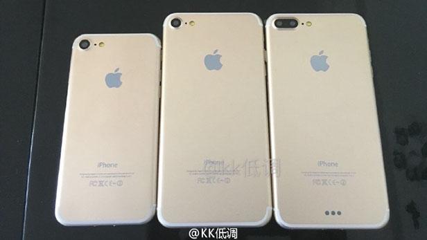 Свежие фотографии демонстрируют три модели нового поколения смартфонов iPhone