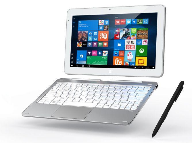 К планшету Cube Mix Plus можно подключить клавиатуру