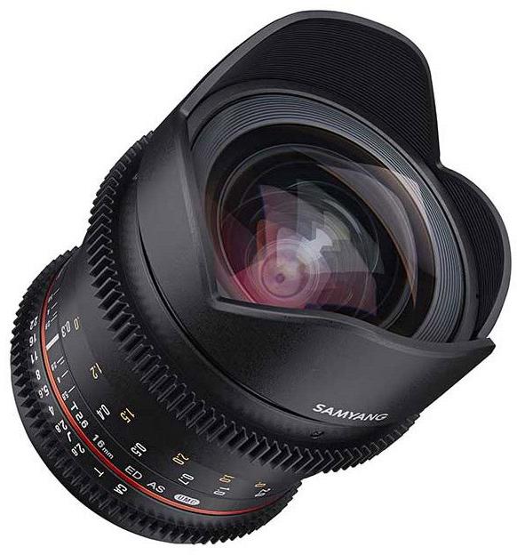 Продажи Samyang VDSLR 16mm T2.6 должны начаться в июне по цене 599 евро