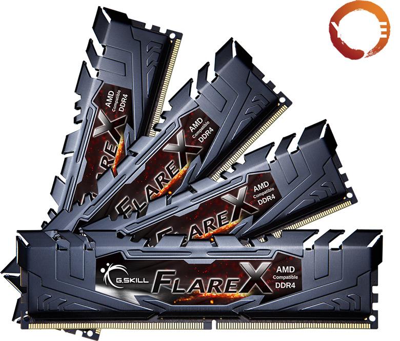 Компания G.Skill представила модули памяти DDR4 для систем на процессорах AMD Ryzen Threadripper