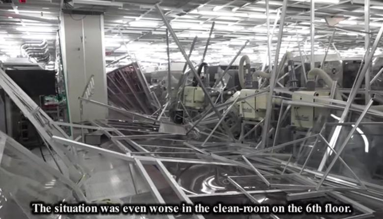 Работа фабрики в полном объеме была восстановлена к ноябрю прошлого года