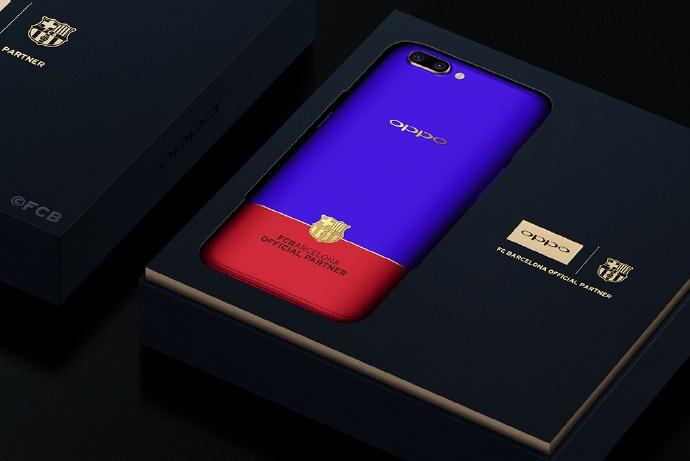 Смартфон Oppo R11 FC Barcelona Edition нацелен на фанатов «Барсы»