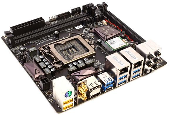 Оснащение Colorful iGame Z270I-WF включает слот M.2 32 Гбит/с