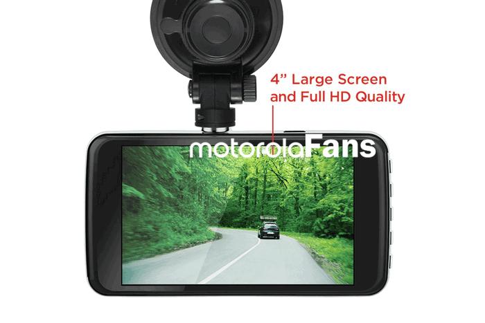 Четырехдюймовый видеорегистратор Motorola оценен в $99