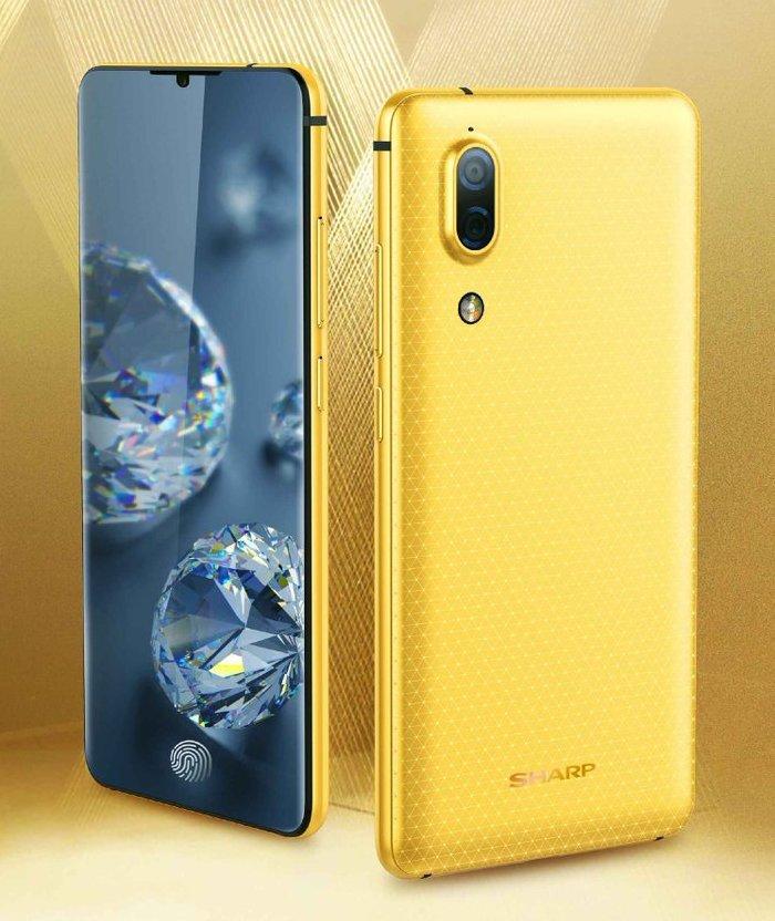 Опубликовано изображение безрамочного смартфона Sharp Aquos S2, который поступит в продажу 8 августа